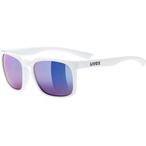 Uvex lgl 35 colorvision okulary rowerowe niebieski/biały 2018 okulary przeciwsłoneczne