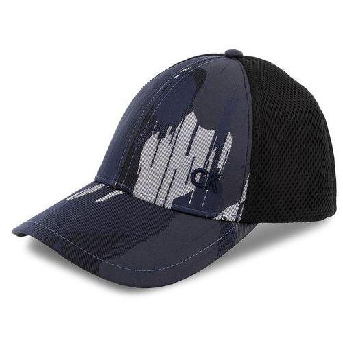 0a93ef495cc54 Czapka męska CALVIN KLEIN BLACK LABEL - Camo Jaquard Basebal K50K503671  910, kolor niebieski