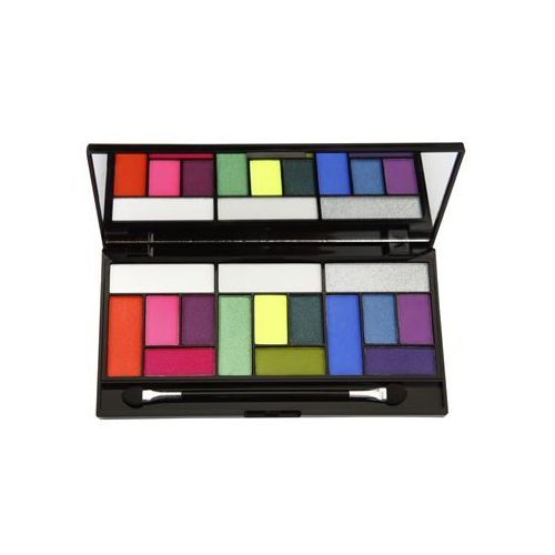 Makeup Revolution Pro Looks Eat Sleep Makeup Repeat paleta cieni do powiek (3 Looks In 1 Palette) 13 g