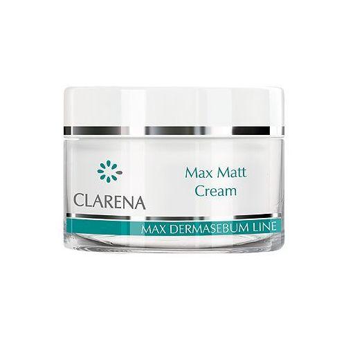 max matt cream krem matujący na dzień 50 ml marki Clarena