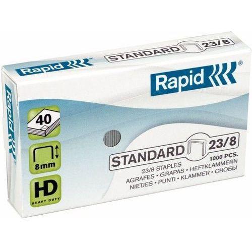 Rapid Zszywki standard 23/8 1000 szt. - x08278