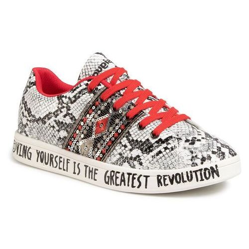 Sneakersy DESIGUAL - Shoes Cosmic Exotic Snake20SSKP30 2007