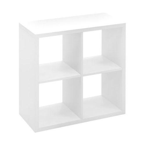 Form Regał mixxit 4-komorowy 73 x 73 x 33 cm biały (5052931155866)