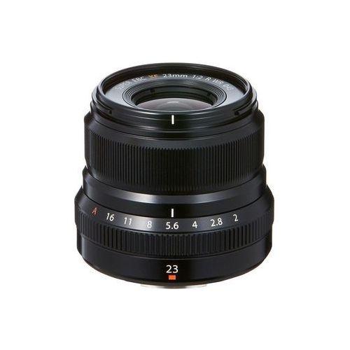 Fujifilm Fujinon xf 23mm 2.0 r wr czarny - przyjmujemy używany sprzęt w rozliczeniu | raty 20 x 0% (0074101030129)