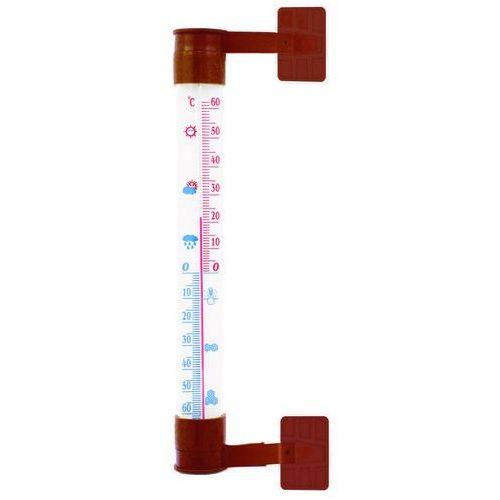 Termometr zaokienny do pcv 26 x 240 mm marki Terdens