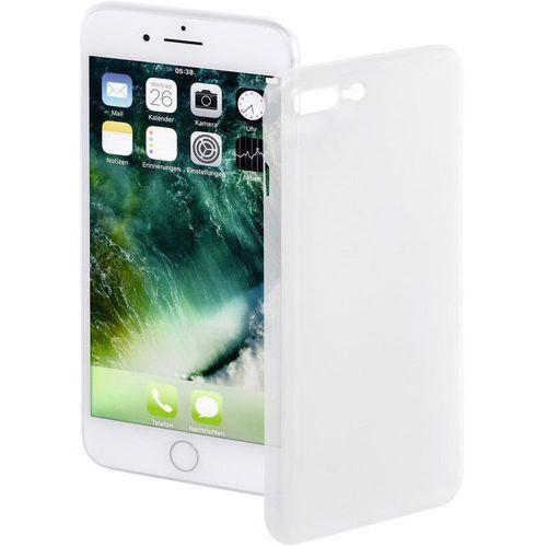 Pokrowiec na tył iphone  177822, ultra slim, pasuje do modelu telefonu: apple iphone 7 plus, biały marki Hama