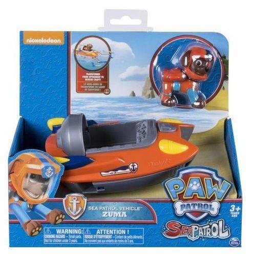 psi patrol morski patrol pojazd tematyczny zuma marki Spin master