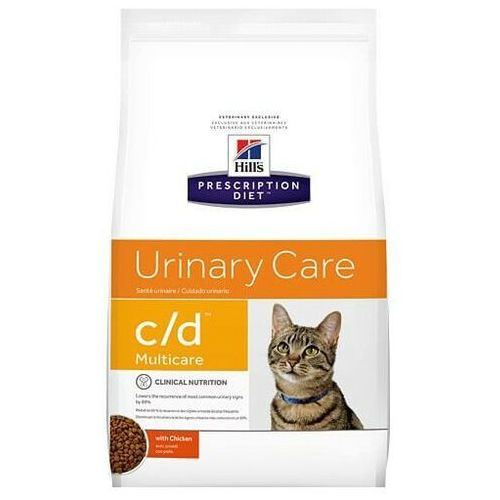 Hill's prescription diet feline c/d multicare chicken 10 kg - darmowa dostawa od 95 zł! marki Hills prescription diet