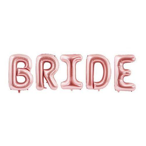 Party deco Balon foliowy bride różowe złoto 280 x 86 cm (5900779114487)