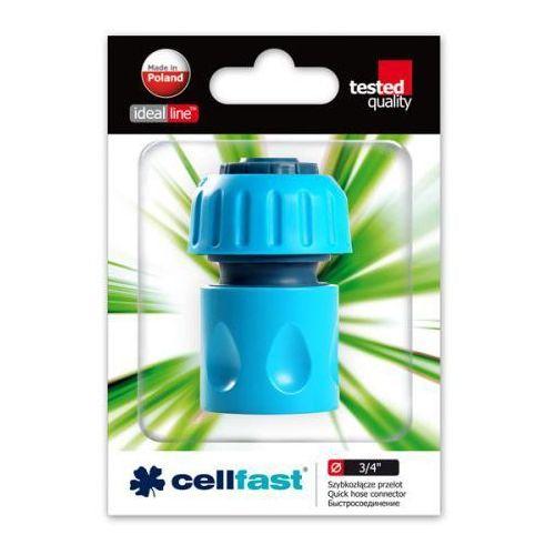 Cellfast Szybkozłącze - przelot (abs)  3/4 (50-135)