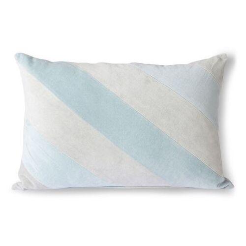 Hkliving poduszka velvet błękitna (40x60) tku2104 (8718921036214)