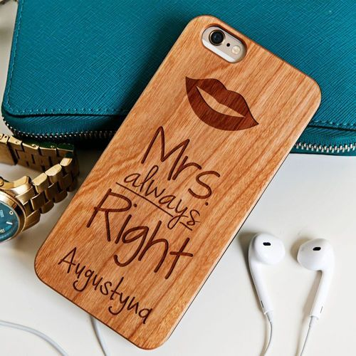 Mrs Always Right - Drewniana Obudowa - Orzech - iPhone 6/6s - sprawdź w wybranym sklepie