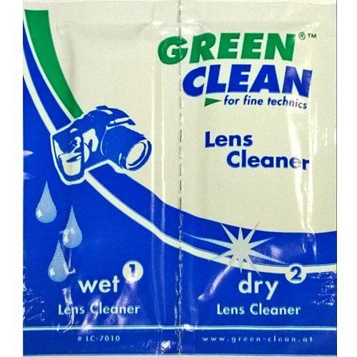 Zestaw ściereczek optycznych Green Clean LC-7010 mokra/sucha do czyszczenia soczewek, kup u jednego z partnerów