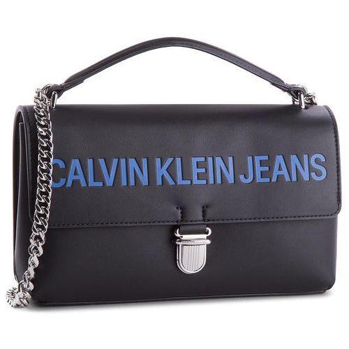 Torebka - sculpted flap 13.5 e k40k400387 001 marki Calvin klein jeans