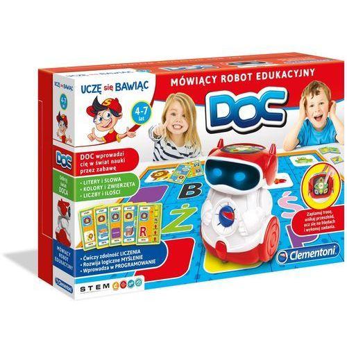 Clementoni Doc mówiący robot edukacyjny - (8005125609727)