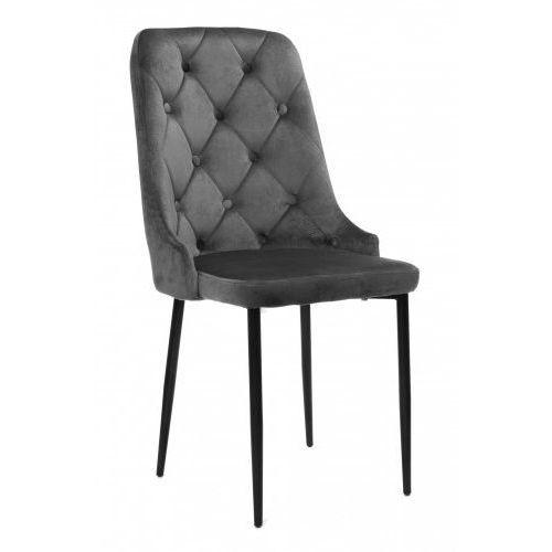 Nowoczesne krzesło hy-dc0255 zielony welur marki Meblemwm