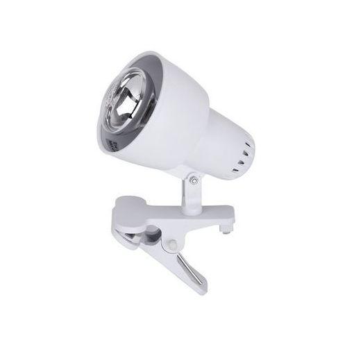 Lampa stołowa lampka klips Rabalux Clip 1x40W E14 biały 4356