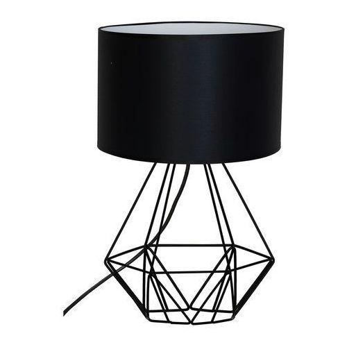Luminex Lampa stołowa basket new 1xe27/60w/230v czarny (5907565980653)