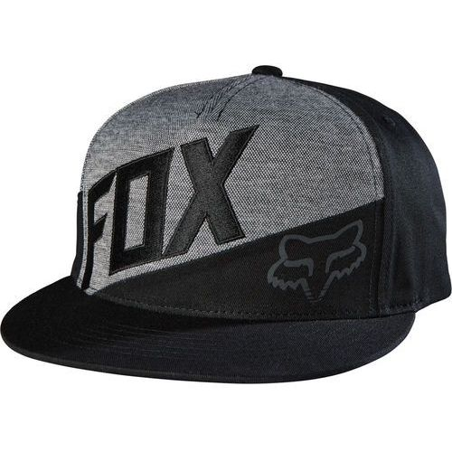 FOX czapka męska Conjunction Snapback czarny, kolor czarny