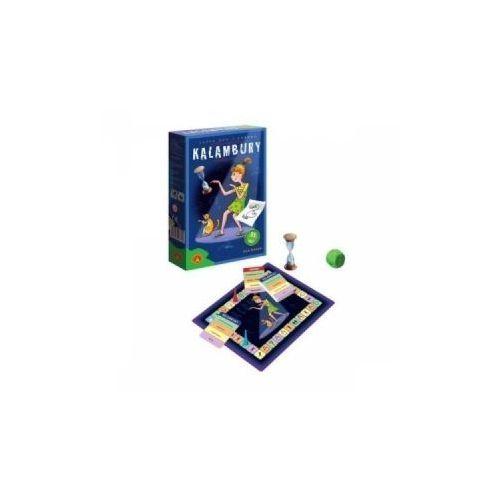Kalambury. wersja mini. gra planszowa marki Alexander