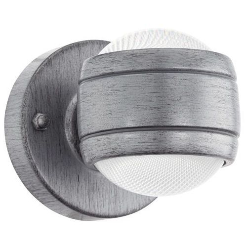 Kinkiet lampa ścienna Eglo Sesimba 2x3,7W LED antyczne srebro 96267 (9002759962678)