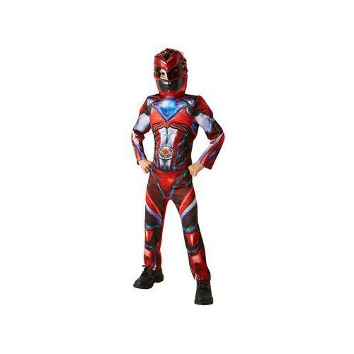 Kostium Czerwony Power Rangers Deluxe - Roz. L