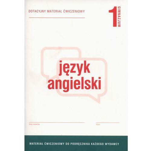 Język angielski 1 Dotacyjny materiał ćwiczeniowy - Anna Tracz-Kowalska, oprawa miękka