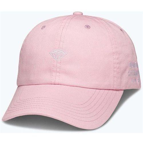 czapka z daszkiem DIAMOND - Micro Brilliant Sports Pink (PNK) rozmiar: OS, kolor różowy