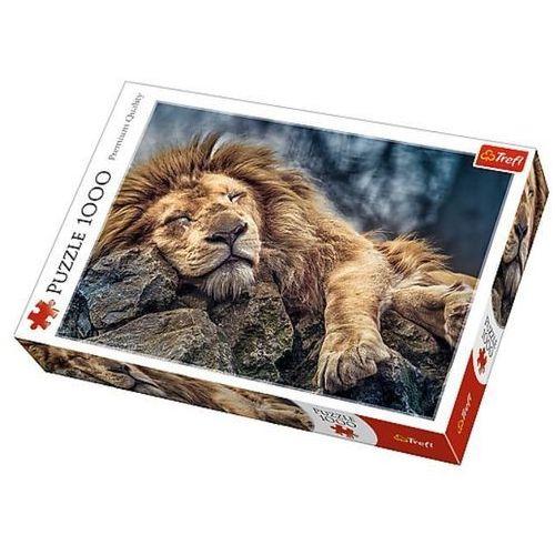 Puzzle 1000 Śpiący lew TREFL, AM_5900511104479