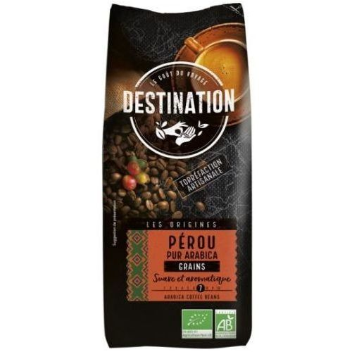 Kawa 100% Arabica Peru Ziarnista 1kg - Destination (3700110016874)