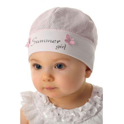 Marika Czapka niemowlęca 100% bawełna 5x34ct