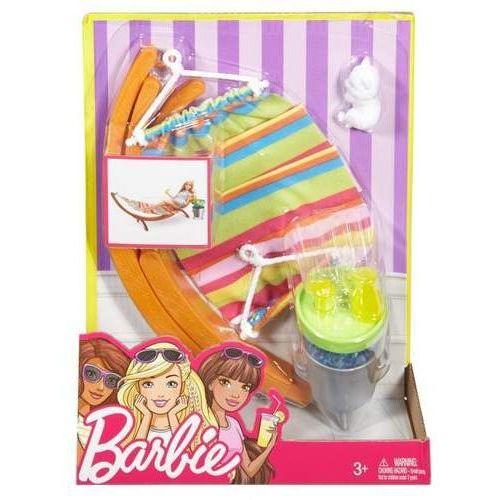 Barbie - Akcesoria wypoczynkowe Hamak