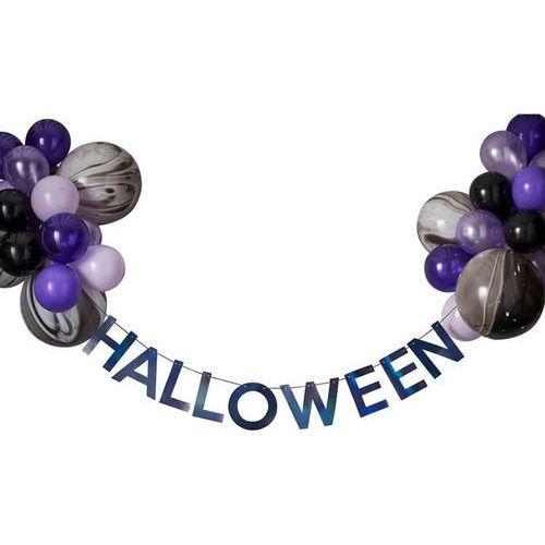 Ginger ray Baner halloween i zestaw balonów - 1 komplet (5056275117054)