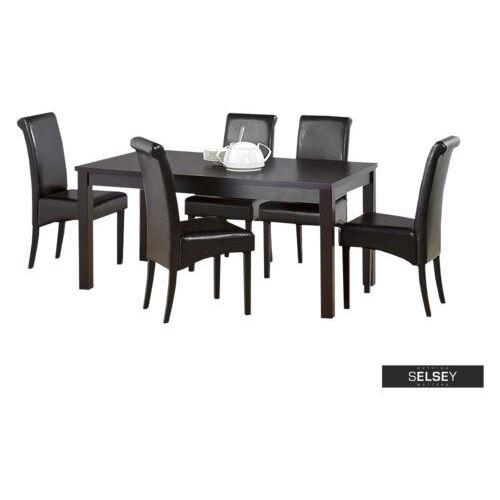 stół rozkładany barbados 160-200x90 cm marki Selsey