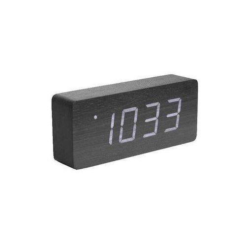 black wood alarm clock marki Columbine