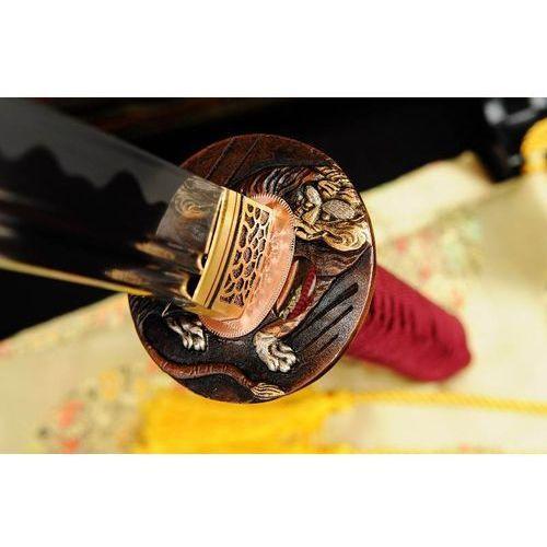 Miecz samurajski katana do treningu, stal wysokowęglowa 1095, ręcznie kuta r367 marki Kuźnia mieczy samurajskich