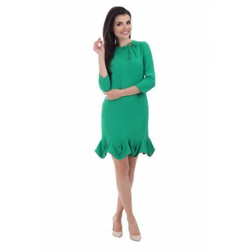 Sukienka wizytowa Model 691 Green, kolor zielony