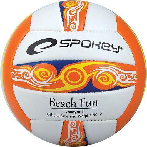 Spokey Piłka siatkowa beach fun  r. 5 - pomarańczowy