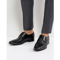 erato leather brogue shoes in black - black marki H by hudson