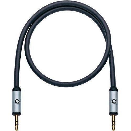 Oehlbach Kabel audio, jack  60011, [1x złącze męskie jack 3,5 mm - 1x złącze męskie jack 3,5 mm], 0.50 m, czarny (4003635600115)