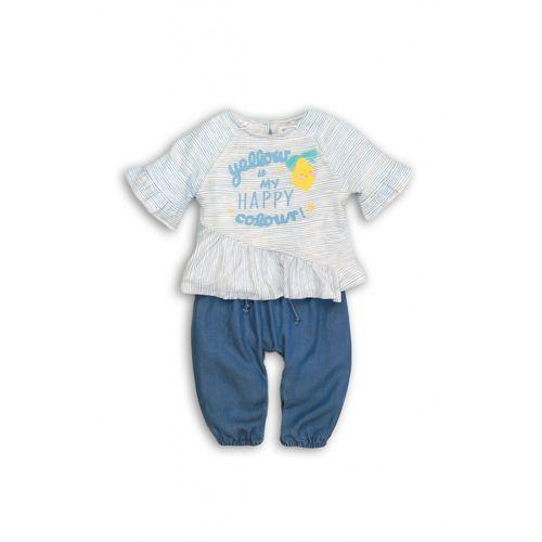 Komplet niemowlęcy bluzka+spodnie 6p38ah marki Minoti