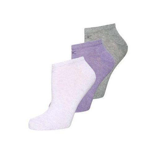 Calvin Klein Underwear 3 PACK Skarpety faded lilac heather/purple rose/grey heather