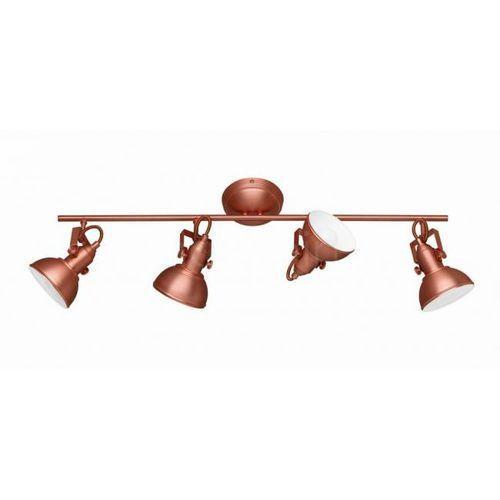 Reality GINA lampy sufitowe listwy Miedź, 4-punktowe - Nowoczesny - Obszar wewnętrzny - GINA - Czas dostawy: od 2-4 dni roboczych (4017807281477)