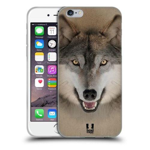 Etui silikonowe na telefon - Twarze Zwierząt Wilk