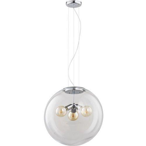 Żyrandol na drutu globo 3xe27/60w/230v szary marki Tk lighting