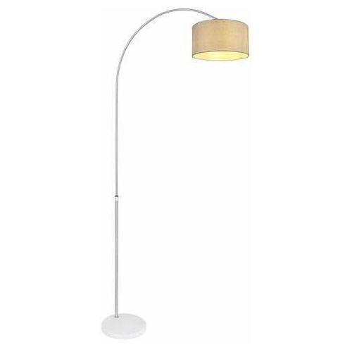 Globo newcastle 58227s lampa stojąca podłogowa 1x60w e27 nikiel/szara