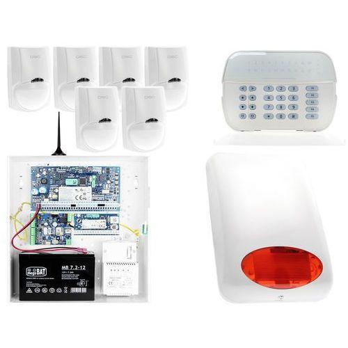 Za12544 zestaw alarmowy 6x czujnik ruchu manipulator led powiadomienie gsm marki Dsc