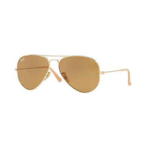 Ray-ban Rayban okulary przeciwsłoneczne goldcoloured/photo brown