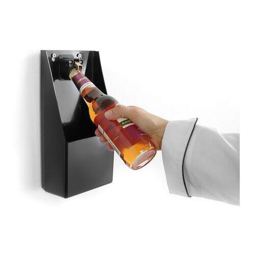 Hendi Otwieracz do butelek z pojemnikiem na kapsle | 135x70x(h)295mm