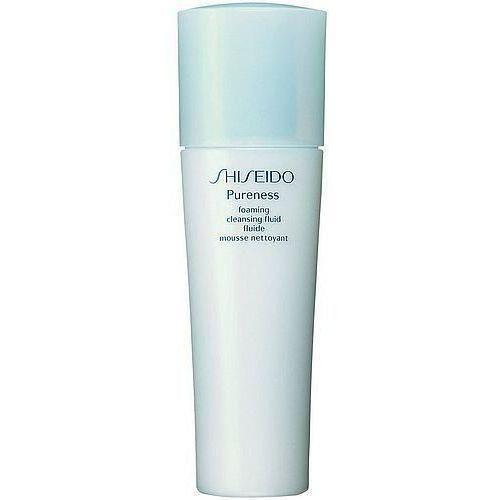 Shiseido PURENESS Foaming Cleansing Fluid 150ml W Żel do mycia twarzy Do skóry wrażliwej i tłustej